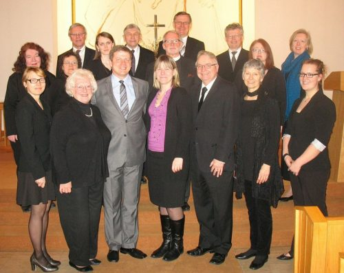 Eriks Esenvalds - Toronto 2013 - with the St. John's Latvian Lutheran Vocal Ensemble