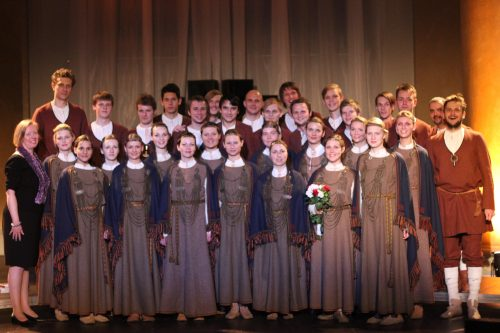 Latvian Youth Choir BALSIS in Sweden - 2012