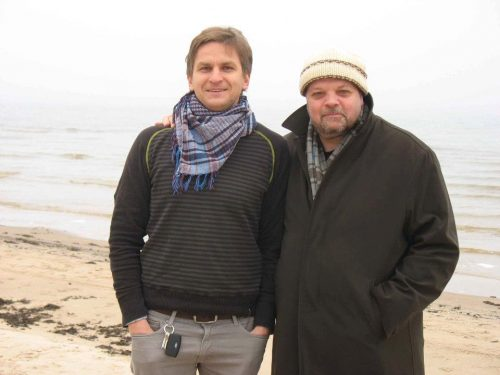 Peter-Anthony Togni and Ints Teterovskis in Latvia - Christmas 2011